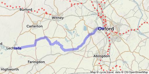 Thames path Cycling UK Forum